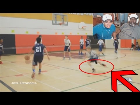 Dad Reacts to CRAZY Ankle-Breakers!! Best of EliteMixtapes Crossovers!
