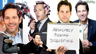 "Ant-Man and The Wasp - Paul Rudd ""I Made Ant-Man Pathetic"" 
