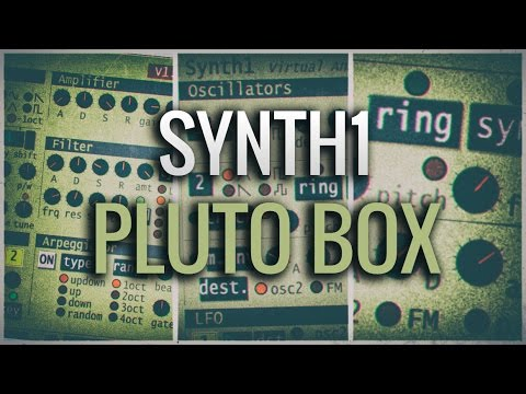 Synth1 Pluto Box Soundset with Synthmorph MIDI Sequences
