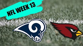 LA Rams vs Arizona Cardinals