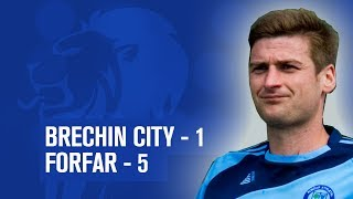 #SPFL League One | Brechin City 1-5 Forfar Athletic | 04/01/14