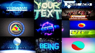 (BEST) Top 30 FREE GAMING Intro Templates  SONY VEGAS, AFTER EFFECTS, CINEMA 4D (2015)