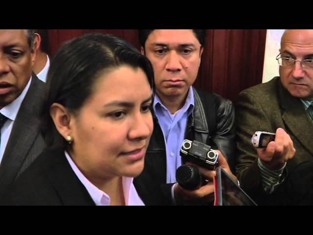 Entrevista a la Dra. Perla Gómez en el presupuesto para la CDHDF