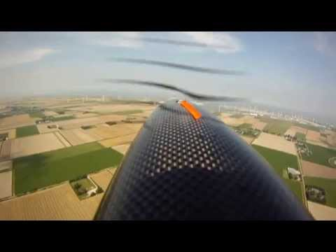 5.8 Ghz RC Sailplane FPV - Eemshaven energy valley of the Netherlands.