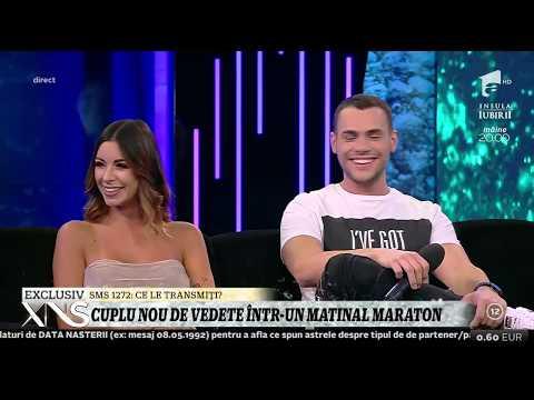 Natalia Mateuț și Mircea Eremia, cel mai nou cuplu de vedete de la Star Matinal