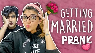 GETTING MARRIED PRANK ON TANZEEL!! 🤣  | Ashi Khanna