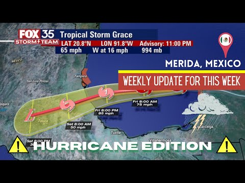 Dealing with the Weather in Merida: Heat and Hurricanes
