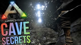 Ark Survival Evolved Gameplay - Hidden Cave Exploring - North West Cave -Ark Gameplay Highlights