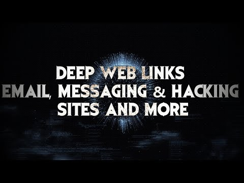 Updated Deep Web Links of Email, Messaging and Hacking Sites