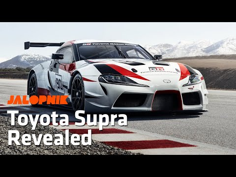 Toyota GR Supra Racing Concept Brings the Legend Back | Geneva Motor Show 2018