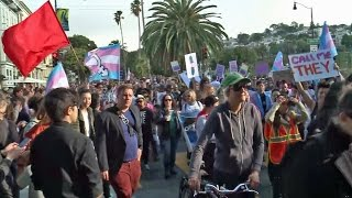 Raw Video: Pride Weekend Begins With Trans March at SF Dolores Park