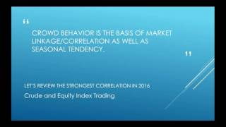 Exploring Market Linkage and Correlations vom 08.11.2016