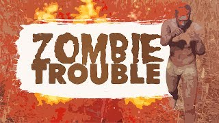 ZOMBIE TROUBLE - BATTLEGROUNDS (Zombie Mode)