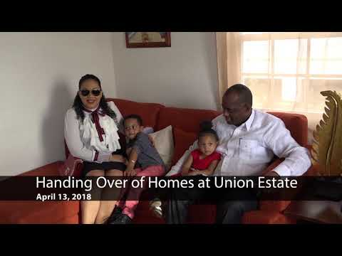 Apr - 13 - Handing Over of Homes at Union Estate