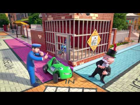 Monopoly Junior: World Where You Can Buy Anything | Board Game for Kids | Hasbro
