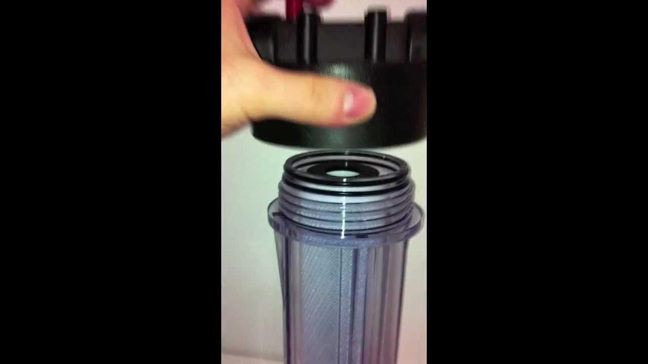 Filtro purificador de agua youtube - Filtros para grifos de agua ...