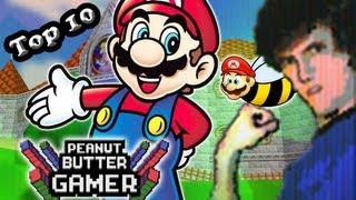 Repeat youtube video Top 10 Mario Games! - PBG