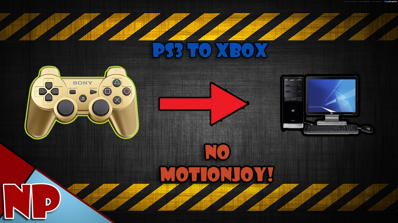 how to use ps3 controller on computer