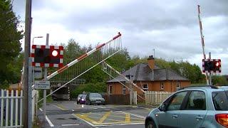 Spoorwegovergang Inverness (UK) Railroad crossing Level crossing