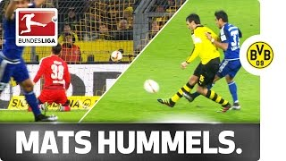 lucky hummels dortmund star spared blushes after spectacular own goal