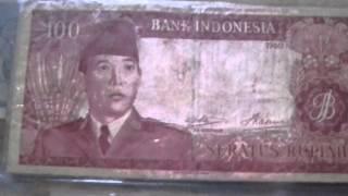 My Indonesia History Money For Sale ( Axiangwolf@rocketmail.com )