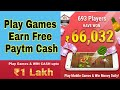 Mobile Premier League -Play Games and Earn Paytm Cash