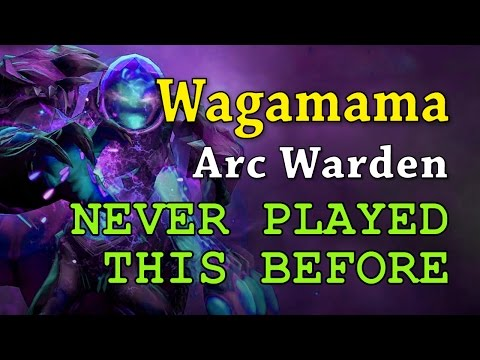 Dota 2 8K MMR MID | Wagamama Arc Warden NEVER PLAYED THIS BEFORE