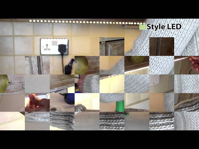 LED Strip Lights – How do I install LED tape under a kitchen cabinet?