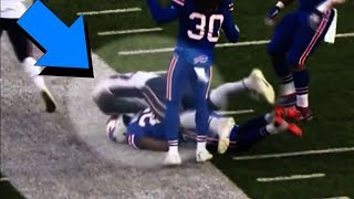 Gronkowski DIRTY HIT on Buffalo Bills Tre