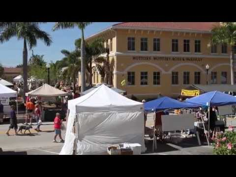 Downtown Farmers' Market, Punta Gorda, Florida