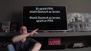 Немецкие слова: Obwohl, obgleich, statt...zu, ohne...zu. Немецкая грамматика, курсы, урок 40.