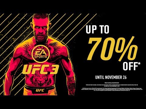 EA SPORTS UFC 3 | Black Friday Sale | Xbox One, PS4