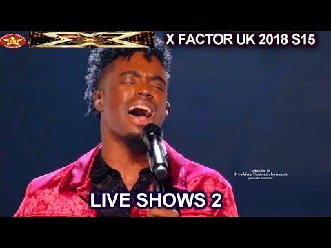 "Dalton Harris Whitney Houston's ""I Have Nothing"" CROWD WENT WILD  | Live Shows 2 X Factor UK 2018"