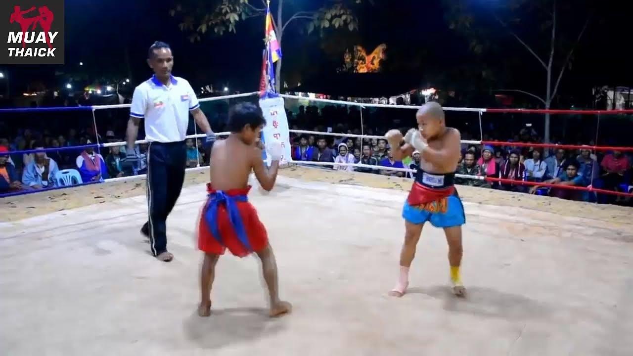 Жесткий бой детей профессионалов (Летвэй - Муай Тай)