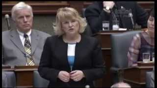 Sylvia Jones MPP Questions Minister on Unfair Surcharge on Ontario Cideries