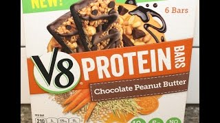 V8 Protein Bars: Chocolate Peanut Butter Review