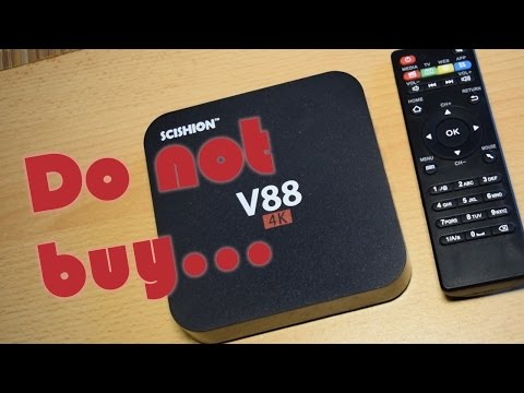 Do NOT buy this Android TV Set-Top Box V88 4K