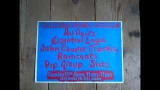 Essential Logic - Beat The Blues Festival, Alexandra Palace 15 June 1980 Lora Logic