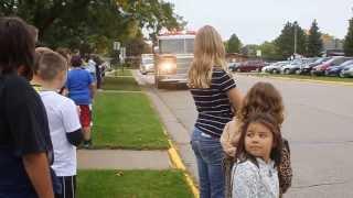 Harper In A Fire Truck