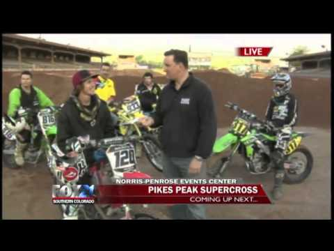 Pikes Peak SUPERCROSS - FOX21 Morning News - Part 2