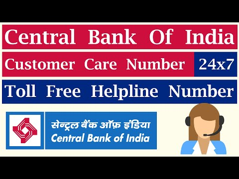 bank of india customer care toll free number
