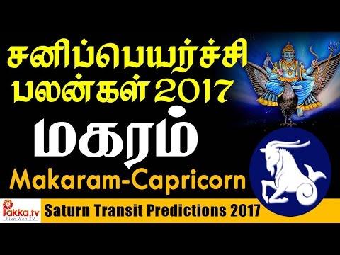 Makaram (Capricorn) Saturn Transit Predictions | மகரம் சனிப்பெயர்ச்சி பலன்கள் 2017-2020