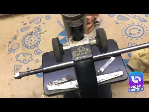 Брак амортизатора каяба KYB  в Микроскоп
