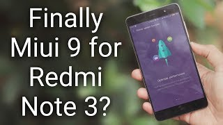 MIUI 9.2.4.0 Global Stable on Redmi note 3