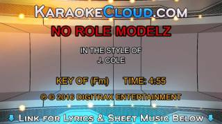 J. Cole - No Role Modelz (Backing Track)