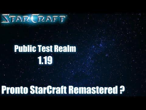 StarCraft Remastered listo ? Public Test Realm(PTR) 1.19