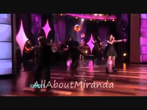 Miranda cosgrove Dancing crazy  at Ellen show