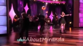 Miranda cosgrove- Dancing crazy live at Ellen show