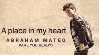 Abraham Mateo A Place In My Heart Audio Youtube