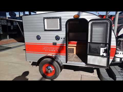 SMALL, LIGHTWEIGHT TRAVEL TRAILERS